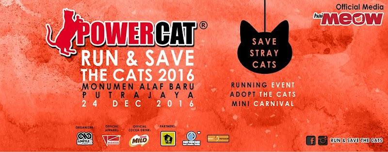 POWERCAT - Run & Save The Cats 2016