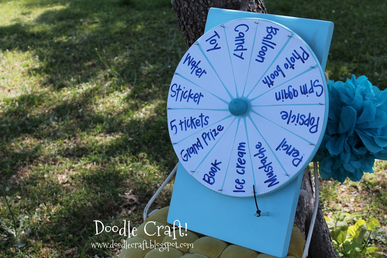 Spin wheel for prizes how to make one inch
