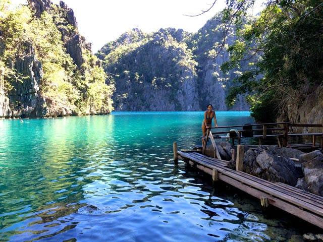 Swimming and Snorkeling in Kayangan Lake