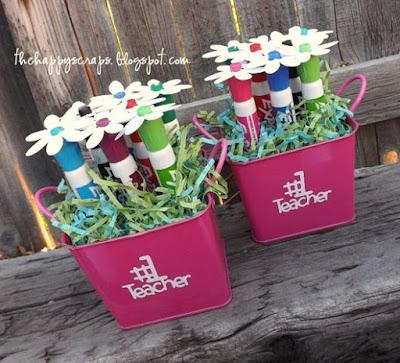 bouquet fiori fai da te con pennarelli