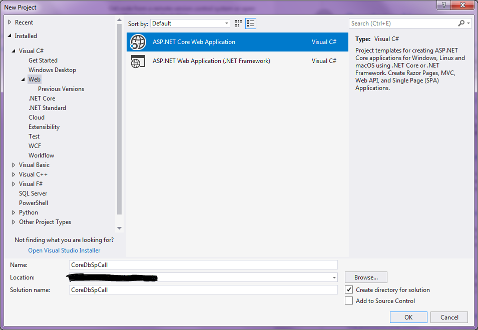 ASP.NET Core: Entity Framework Call Store Procedure