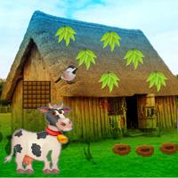 G2R Trapped Cow Village Escape