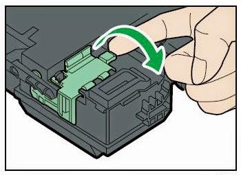 Toner-Spot: Ricoh Aficio SP C320DN Printer - Toner Waste
