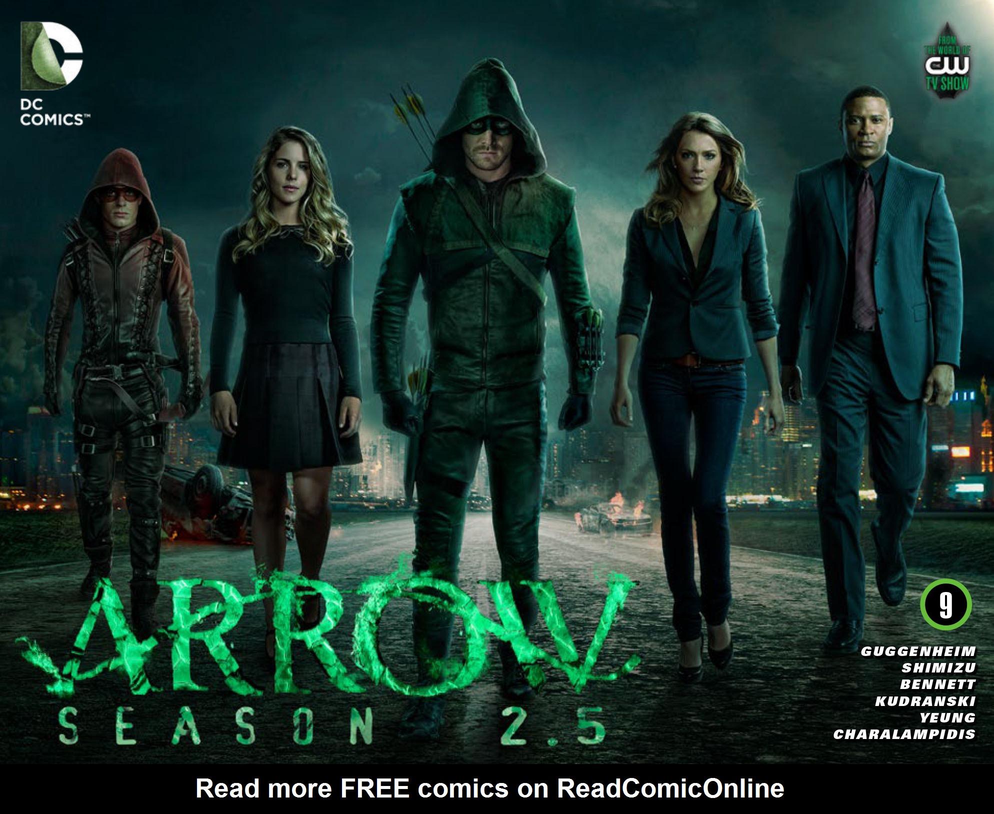 Read online Arrow: Season 2.5 [I] comic -  Issue #9 - 1