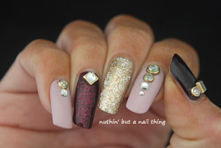 sparkle glitter nail art design ideas