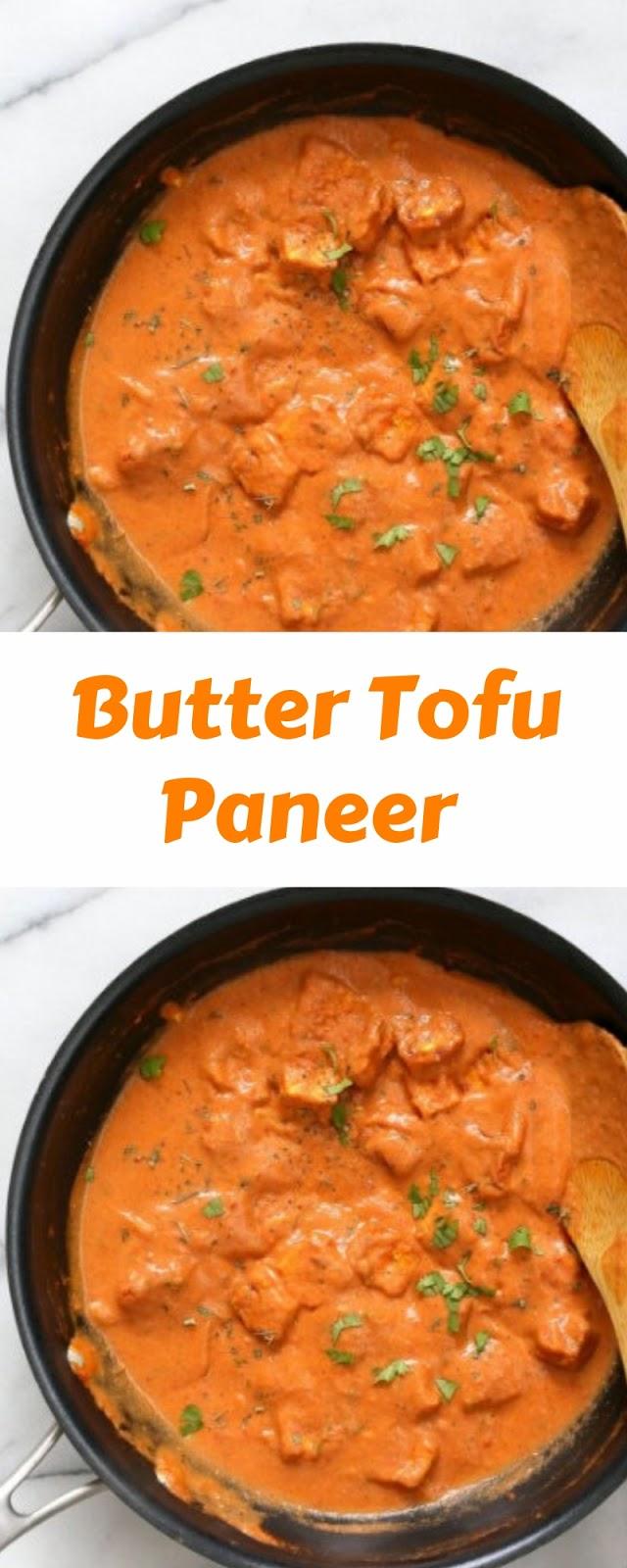 Butter Tofu Paneer