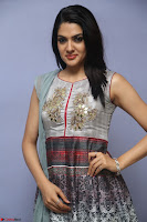 Sakshi Chaudhary Beautiful Emroidery Work Sleeveless Anarkali Dress 042.JPG