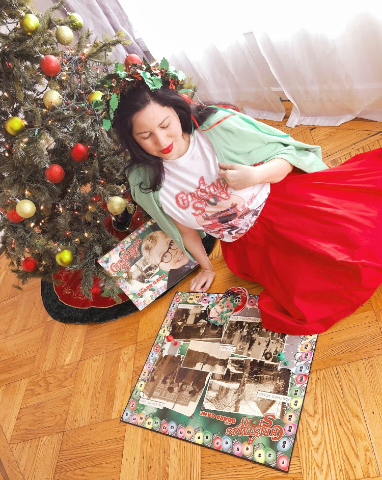 A Vintage Nerd A Christmas Story 80s Tess Vintage Blogger Vintage Inspired Fashion Retro Christmas