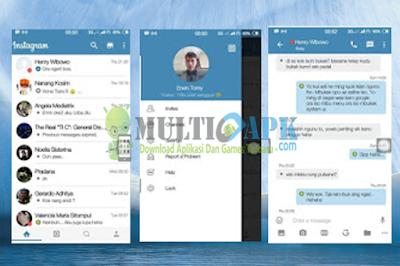 BBM Mod Tema Instagram Flat V4 Base v2.13.1.14 Apk