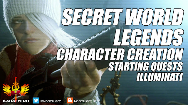 Secret World Legends Gameplay, Character Creation, Starting Quests, ILLUMINATI