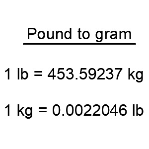 With This Online Calculator You Can Convert Pounds To Grams Lbs Is A Simple Program For Converting Into