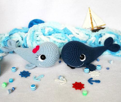Blue Whale - Free Amigurumi Pattern