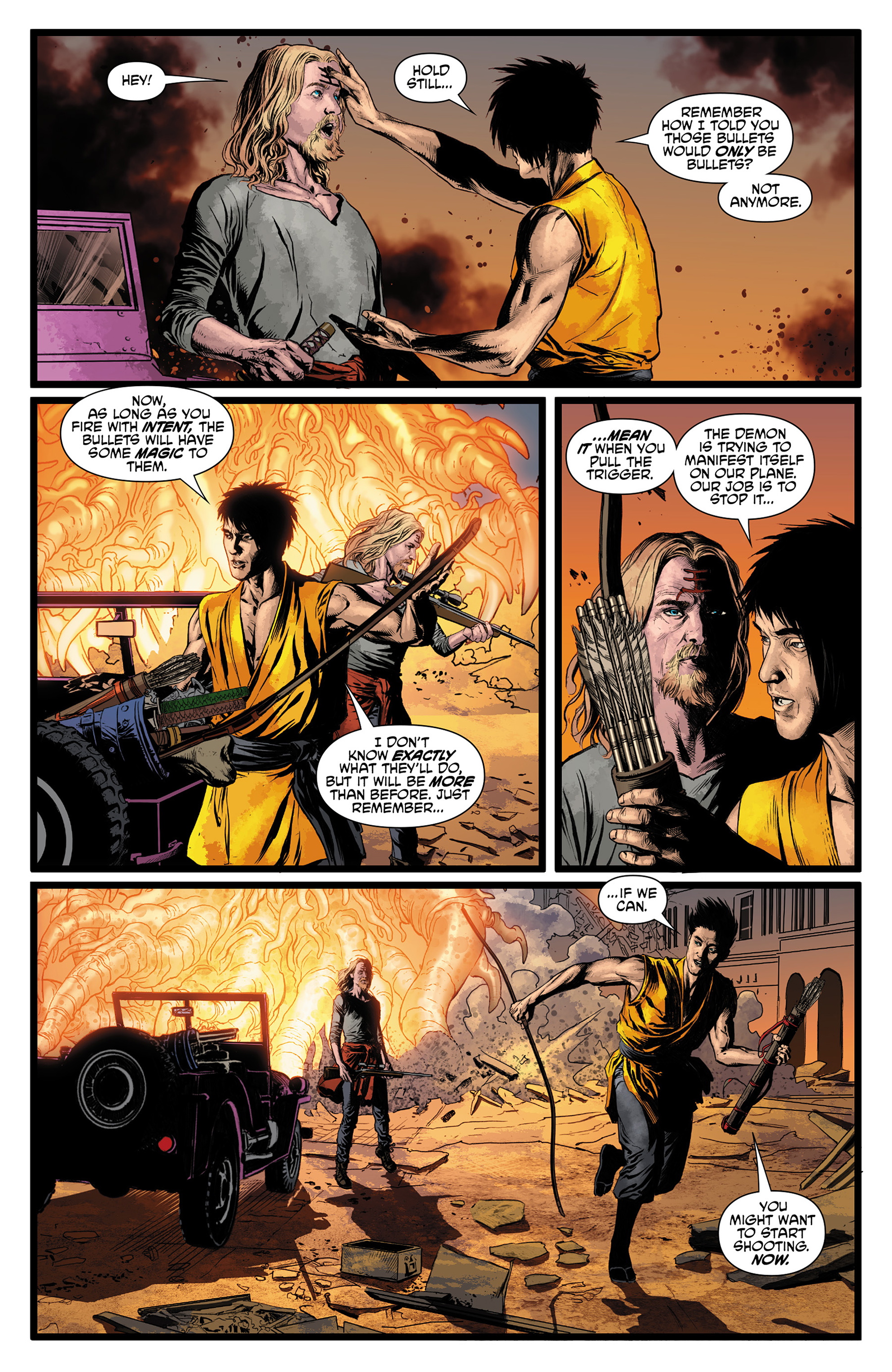 Read online King Tiger comic -  Issue #3 - 20