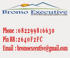 Kontak Person Bromo Executive