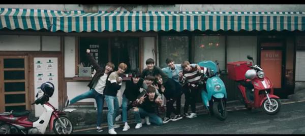 WANNA ONE成員在MV只出現2秒 粉絲怒灌IG導演道歉