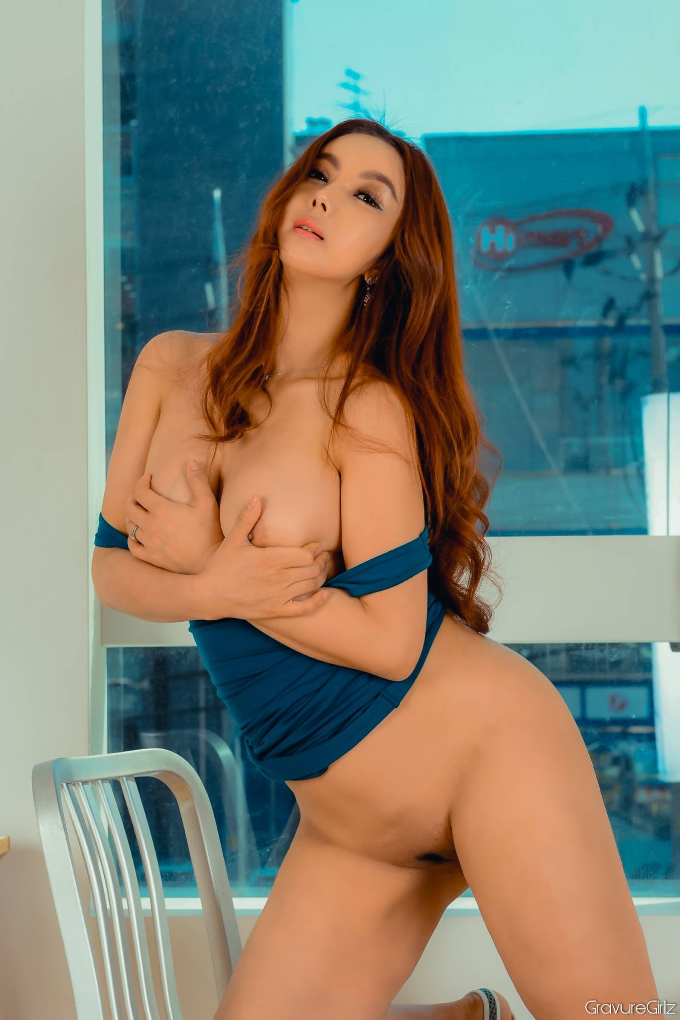 nude Girl uncensored model