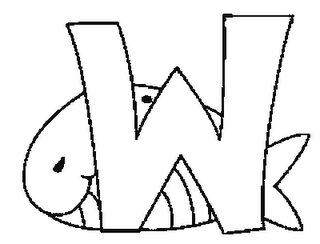 Colorea Tus Dibujos Abecedario De Animales Letra W