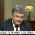 "Poroshenko on CNN: ""Putin wants the whole Ukraine"""