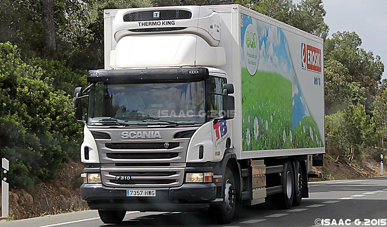 Camiones y autobuses en baleares scania p ii - Transporte islas baleares ...