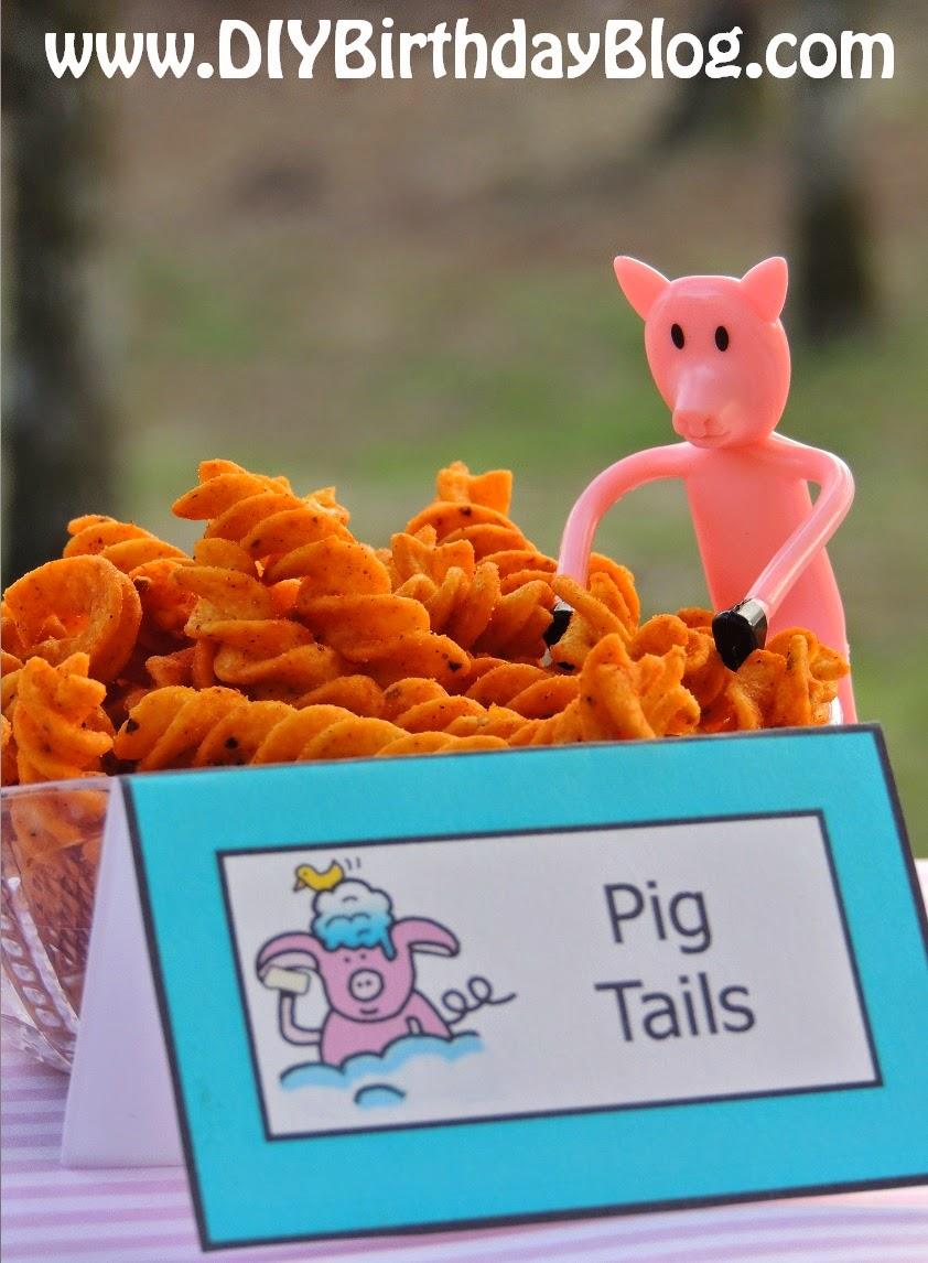Piggy Bubble Bath Birthday Party