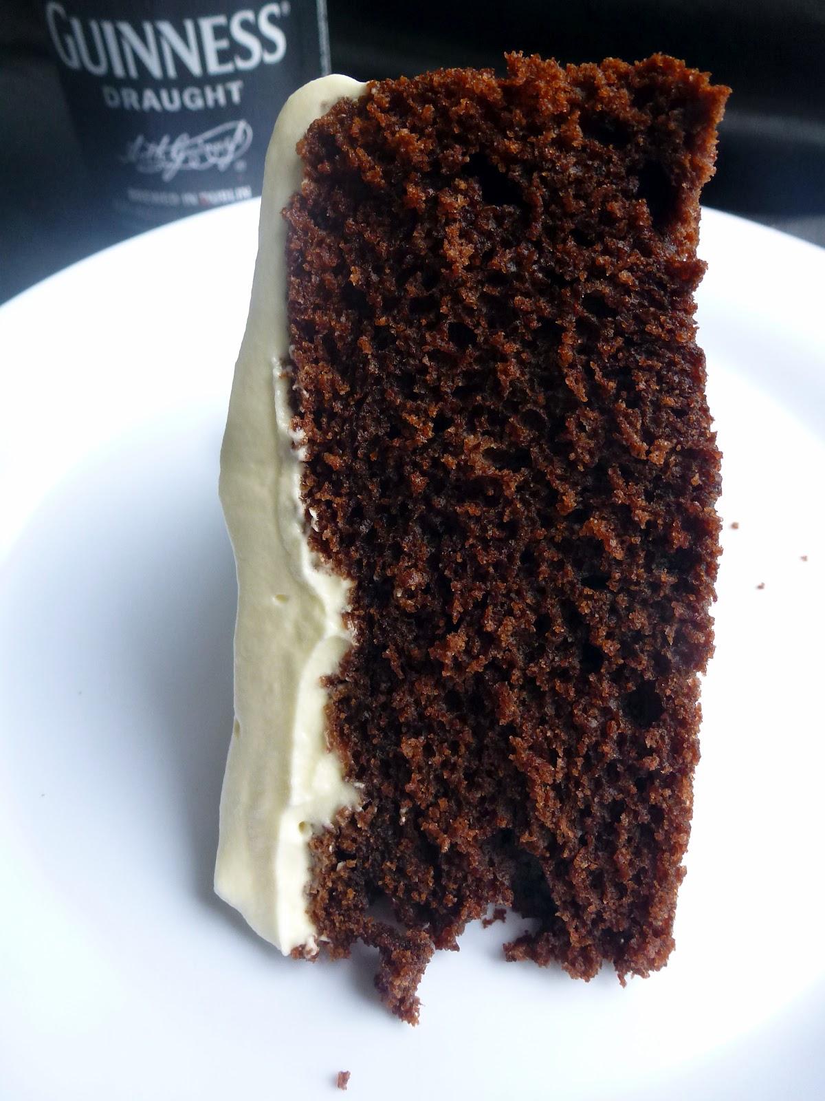 Double Dark Chocolate Stout Beer Cake