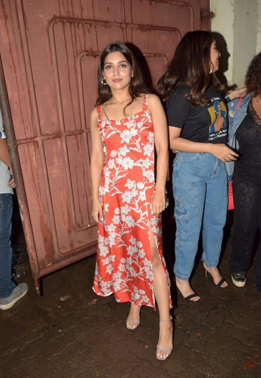 Samiksha Pednekar at Screening Of Film Saand Ki Aankh
