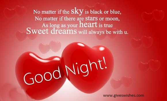 Top Selected Love Good Night Wishes For Her