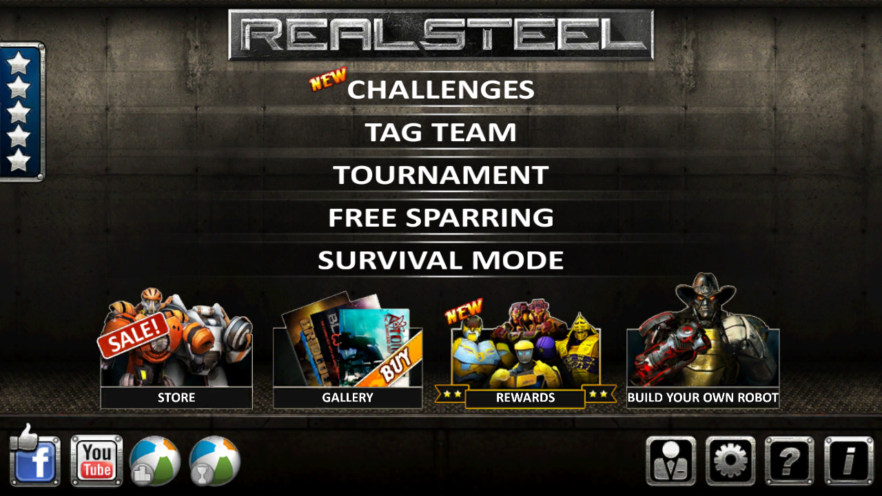 Real Steel HD v 1.22.0 Apk + Data