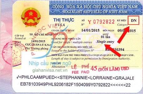 visa tái nhập 1 lần - tâm pacific travel