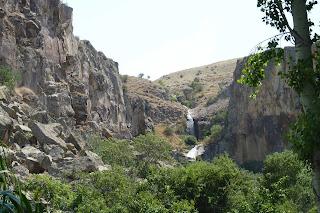 Cascadas del Valle de Ihlara.