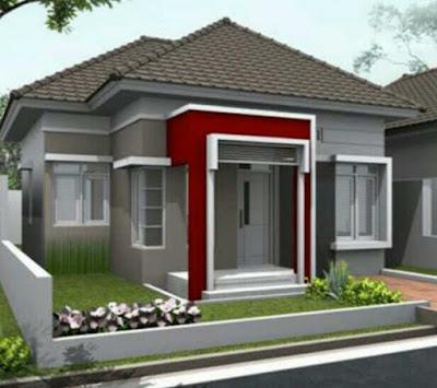 Contoh model rumah sederhana tapi indah