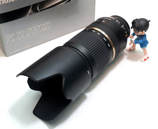 Jual Tamron 70-300mm VC f4-5.6 For Nikon 2nd