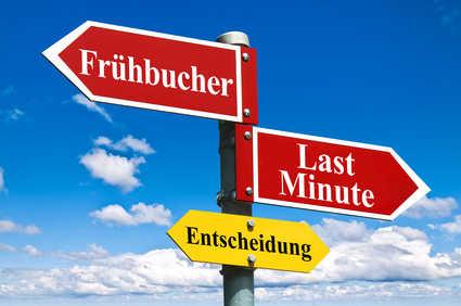 Frühbucher oder Last Minute? (C) LKlauser-Fotolia