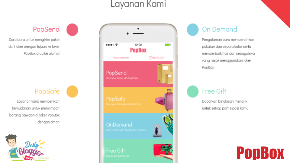 Layanan Popbox: PopSend, PopSafe, On-Demand, Free Gift