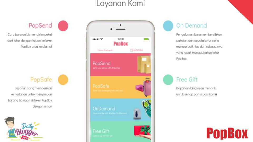 Layanan Popbox: PopSend, PopSafe, On-Demand, Free Gift
