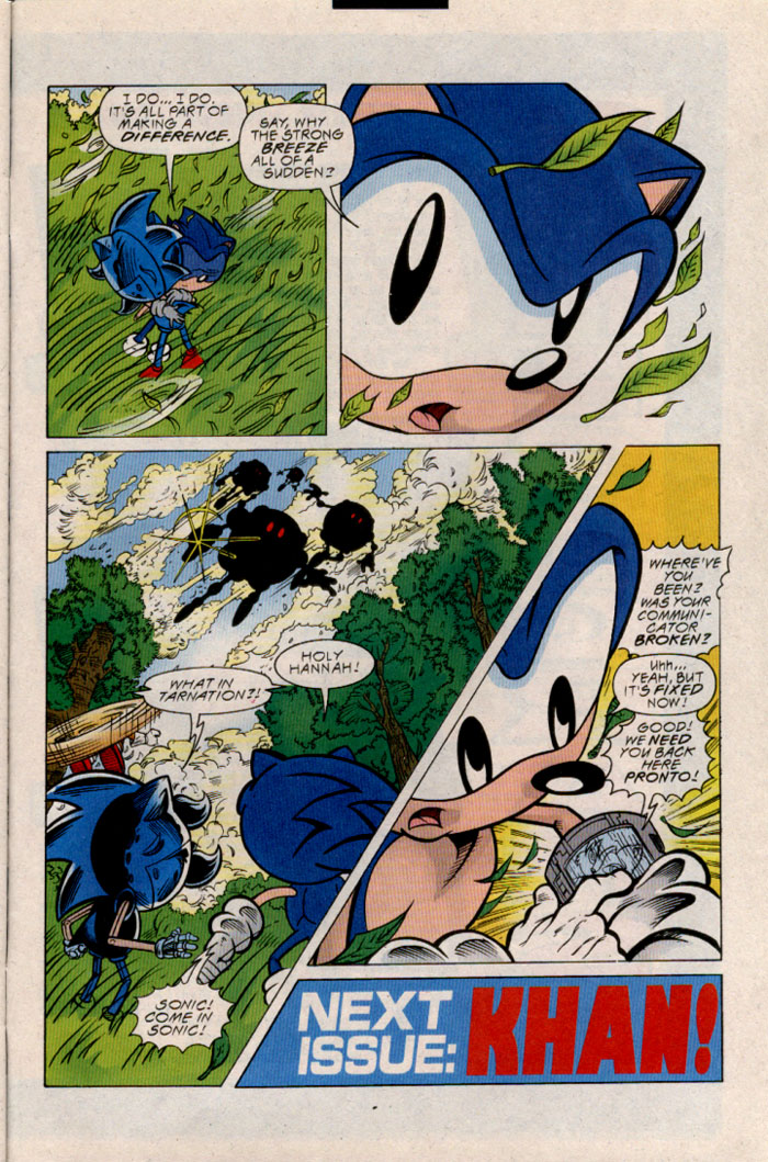 Read online Sonic The Hedgehog comic -  Issue #54 - 25