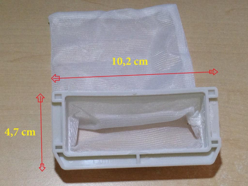 Túi lọc sơ vải trong máy giặt Panasonic 7kg (MSP: 116)