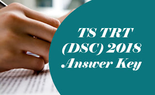 TS TRT 2018 Key, TS DSC 2018 Key, TS TRT Key 2018, TS DSC Key 2018