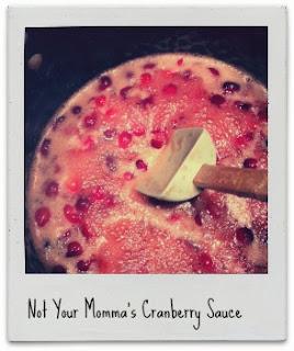 simple tasty cranberry sauce!