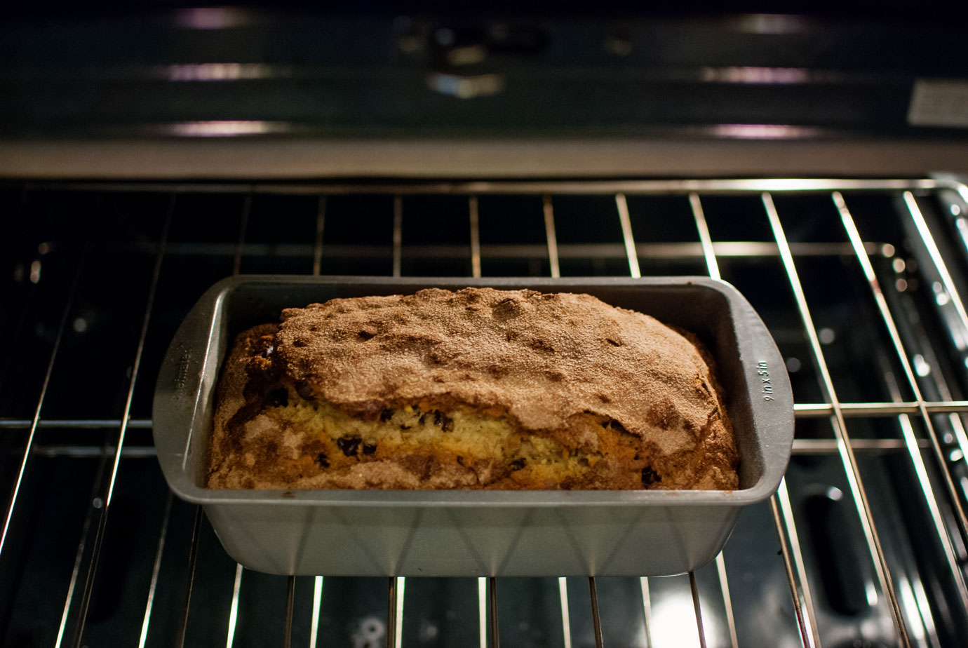 Check The Banana Bread With A Toothpick Before Removing From The Oven