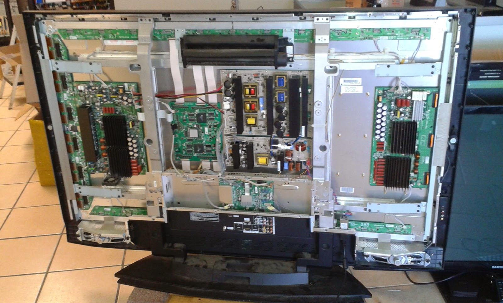 Coppell Tv Repair Online Blog Lg 60pc1d Ue With Dark