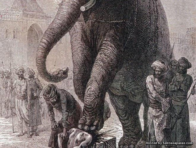 Dipijak gajah