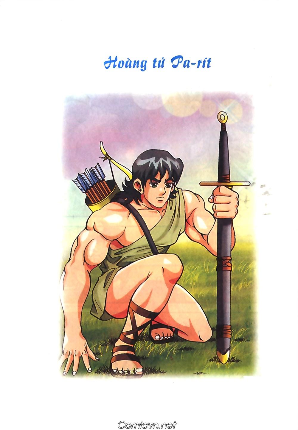 Thần Thoại Hy Lạp Màu - Chapter 50: Hoàng tử Pa rít - Pic 1