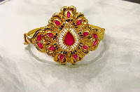 Ruby arm ring - Gold Jewelry pattern