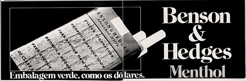 1978. anos 70, propaganda de cigarros anos 70. história anos 70, reclames anos 70. oswaldo Hernandez.