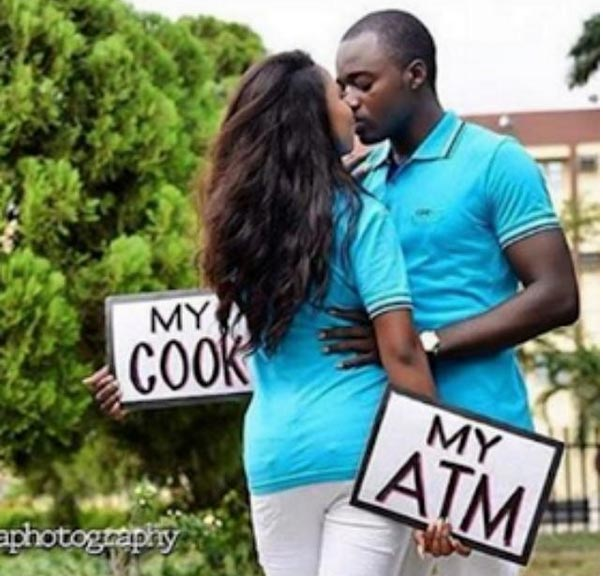 This couple's pre-wedding photo though