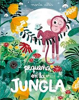 """Portada de """"Pequeña en la jungla""""."""