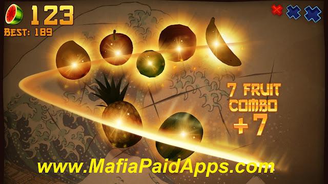 Fruit Ninja Premium Mod (Bonus,carambola) Apk for android www.MafiaPaidApps.com
