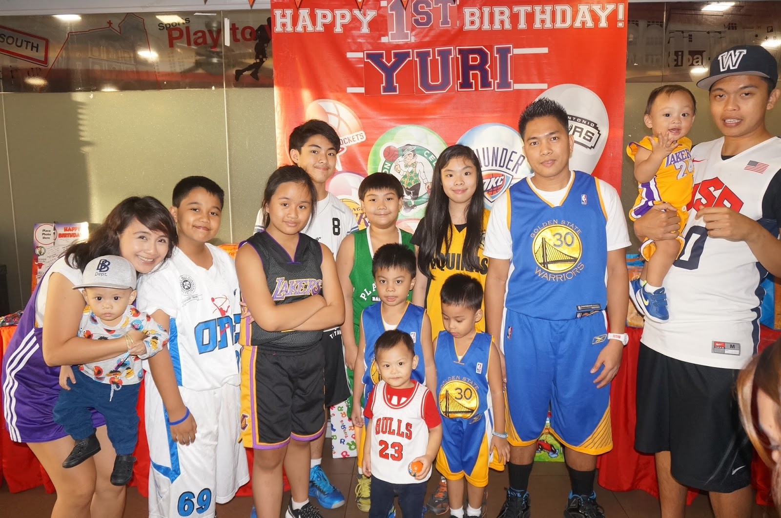 occasions of joy basketball themed party ideas