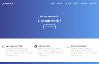 Versona Business Blogger Template